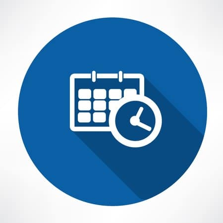 Calendar and Bookings Icon for Dental Emergencies