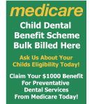 Child Dental Benefit Scheme Info